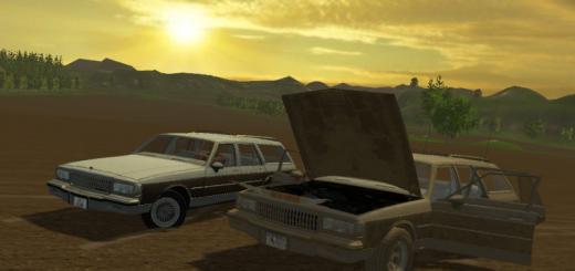 Машины для Мод автомобиля «Chevrolet Caprice v1.2» для Farming Simulator 2015