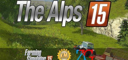 Карты для Карта «The Alps» V1.0 для Farming Simulator 2015