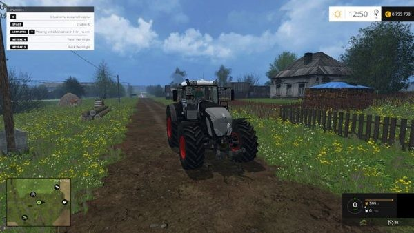Тракторы для Мод трактор Fendt 939 BB Vario Full v 1.0 для Farming Simulator 2015