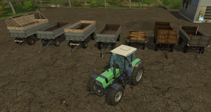 Прицепы для Мод-пак прицепов MBP trailer для Farming Simulator 2015