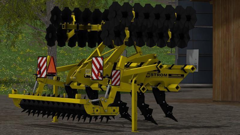 С/Х инвентарь для Чизельный плуг «TERRALAND TN PROFI v1.0» для Farming Simulator 2015