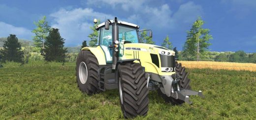 Тракторы для Мод трактор Massey Ferguson 7726 Krone Edition v1.0 для Farming Simulator 2015