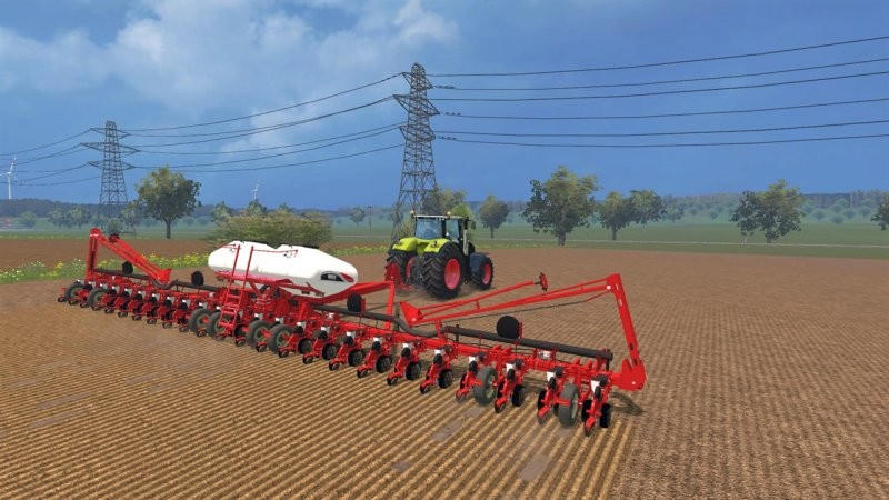 Сеялки для Мод сеялки White 9824 Planter для Farming Simulator 2015