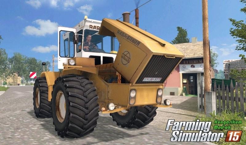 Тракторы для Мод пак тракторов «Raba Steiger 250 v 4.0» для Farming Simulator 2015