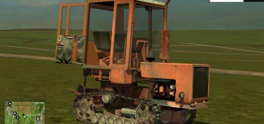 Русская техника для Мод трактор Т 70 V2 для Farming Simulator 2015