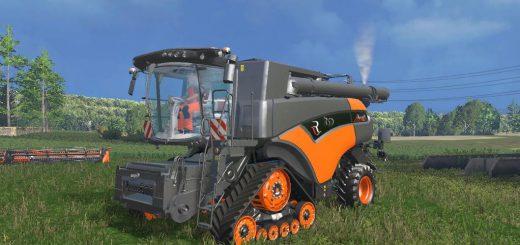 Комбайны для Мод комбайн New Holland CR 10.90 Limited для Farming Simulator 2015