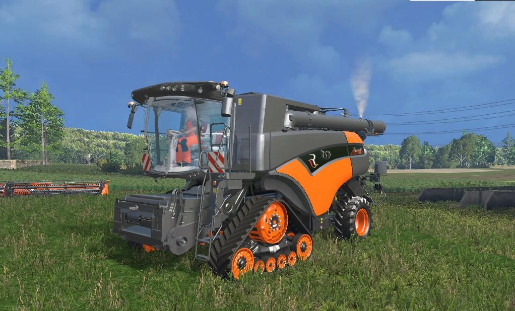 Комбайны для Мод комбайн New Holland CR 10.90 Limited для Farming Simulator 2015