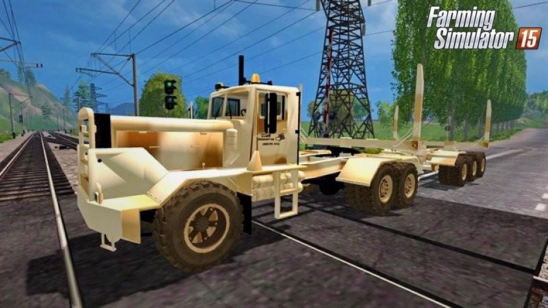 Грузовики для Мод-пак грузовика Goblin Desert Camo v1.0 для Farming Simulator 2015