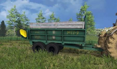 Прицепы для Мод прицеп MTT 9 v1.0 для Farming Simulator 2015