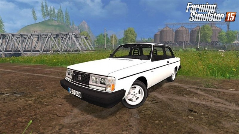 Машины для Мод автомобиля Volvo 242 Turbo v1.01 для Farming Simulator 2015