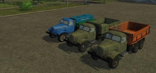 Грузовики для Мод-пак Зил 157 v 1.0 для Farming Simulator 2015
