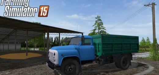 Русская техника для Мод грузовик ГАЗ 53 V1.0 для Farming Simulator 2015