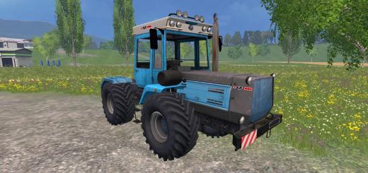 Русская техника для Мод трактор «ХТЗ 17021» v 2.0 для Farming Simulator 2015