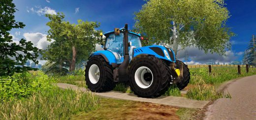 Тракторы для Мод трактор  New Holland T7.270 T4B v1.0 для Farming Simulator 2015