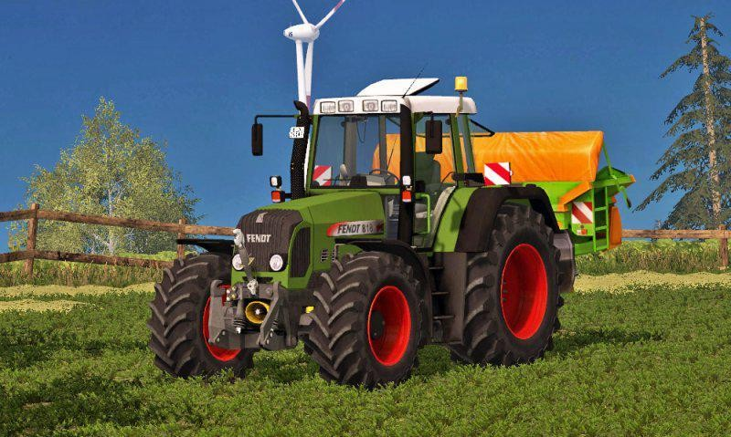 Тракторы для Мод трактор Fendt 818 Vario TMS v 1.0 для Farming Simulator 2015