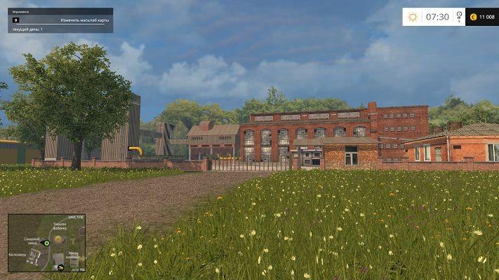 Карты для Карта Николаевка v 9.1 для Farming Simulator 2015