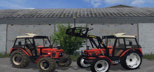 Тракторы для Мод трактор Zetor 7745 FL v 1.0 для Farming Simulator 2015