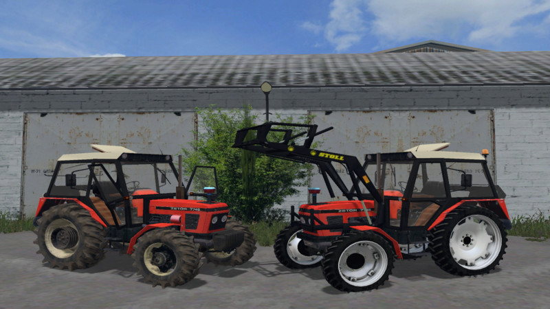 Тракторы для Мод трактор Zetor 7745 FL v 1.0 для Farming Simulator 2015