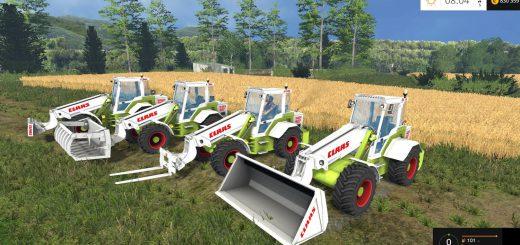 Погрузчики для Мод погрузчик Claas Ranger 940 GX v1.0 для Farming Simulator 2015