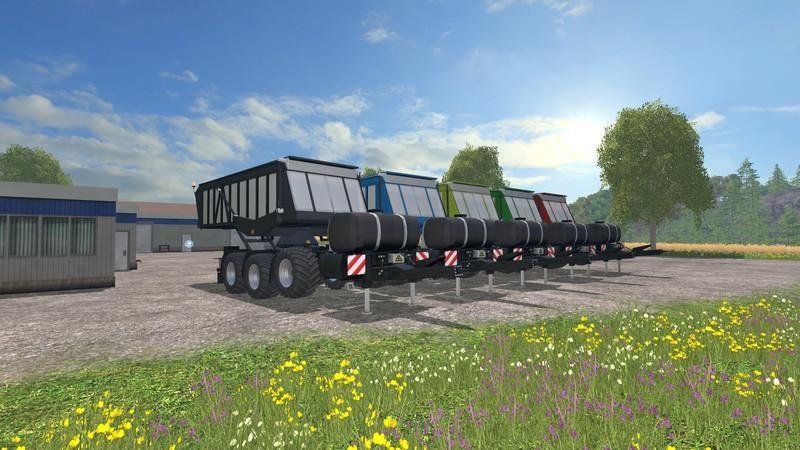 Прицепы для Мод на прицеп для силоса для Farming Simulator 2015