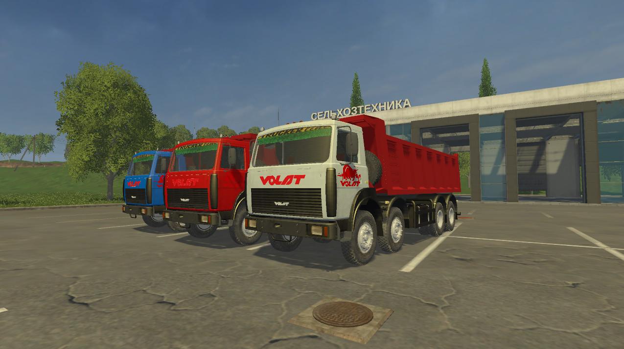 Русская техника для Мод грузовик «МЗКТ-65152» для игры Farming Simulator 2015