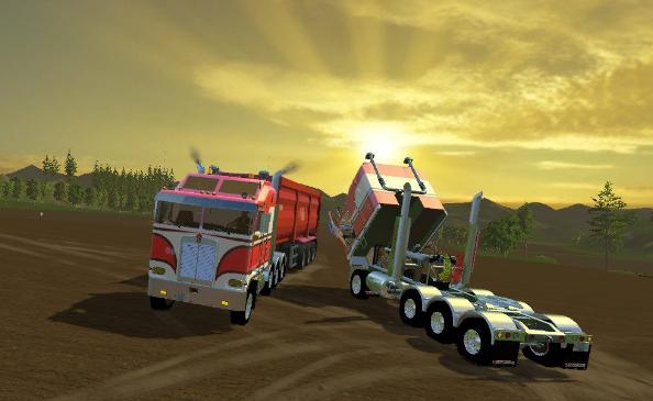 Грузовики для Мод грузовик Truck Kenworth для Farming Simulator 2015