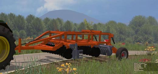 С/Х инвентарь для Мод прицепной культиватор для Farming Simulator 2015