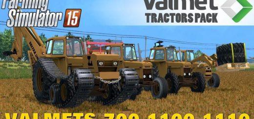 Погрузчики для Мод пак тракторов VALMET для Farming Simulator 2015