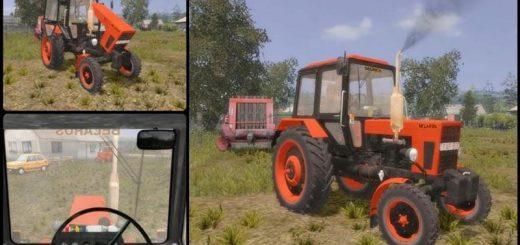 Русская техника для Мод трактор Беларус МТЗ 80 для Farming Simulator 2015