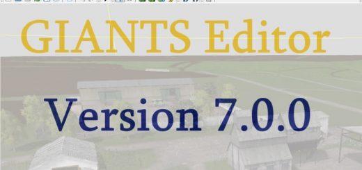 Другие моды для Редактор модов «GIANTS Editor 7.0.0» для Farming Simulator 2015