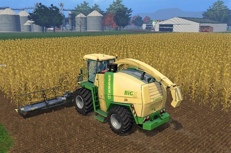 Карты для Американская карта «Great Western Farms v 3.2» для Farming Simulator 2015