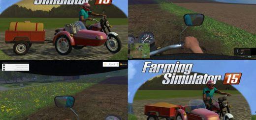 Русская техника для Мод-пак Иж Планета 5К для Farming Simulator 2015