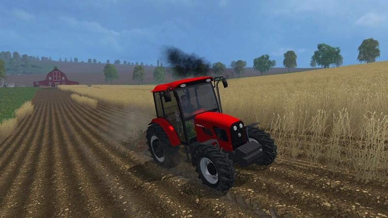 Тракторы для Мод трактор Tumosan 8105 4WD v2.0 для Farming Simulator 2015