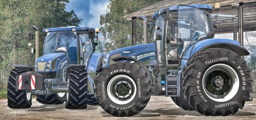 Тракторы для Мод-пак тракторов «New Holland T6.160/175» для Farming Simulator 2015