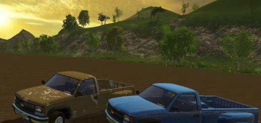 Машины для Мод машины Chevrolet K3500 для Farming Simulator 2015
