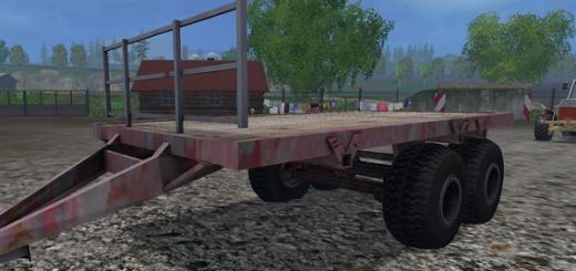 Прицепы для Мод прицеп PRT Bales v1.0 для Farming Simulator 2015
