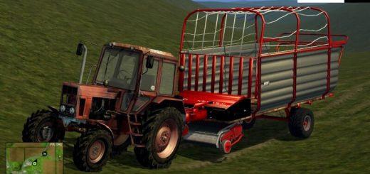 Прицепы для Мод фуражный прицеп для Farming Simulator 2015