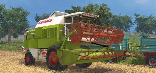 Комбайны для Мод комбайн CLAAS DOMINATOR 88S v 1.1 для Farming Simulator 2015