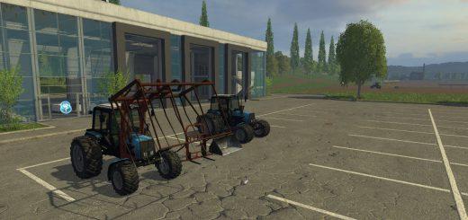 Русская техника для Мод пак тракторов МТЗ-1025 для Farming Simulator 2015