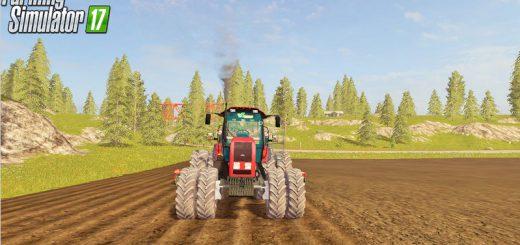 Русская техника для игры мод Мод трактор «МТЗ Беларус 2022.3» для Farming Simulator 2017