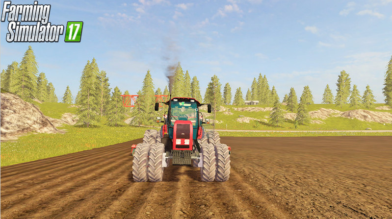 Русская техника для игры мод Мод трактор «МТЗ Беларус 2022.3» для Farming Simulator 2017