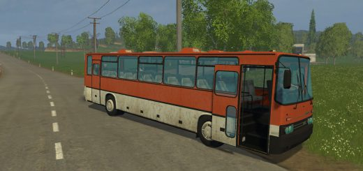 Русская техника для Мод автобус «Икарус 250 250-93» для Farming Simulator 2015