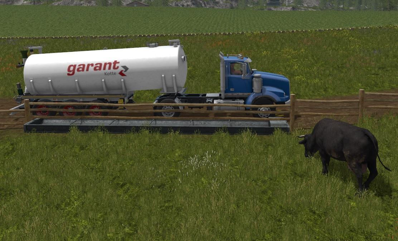Цистерны для игры мод Мод бочка для воды «Kotte Garant» для Farming Simulator 2017