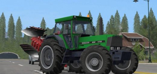 Тракторы для игры мод Мод трактор Torpedo RX 170 для Farming Simulator 2017