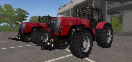 Русская техника для игры мод Мод на трактор «Беларус 4522» V1.0 для Farming Simulator 2017