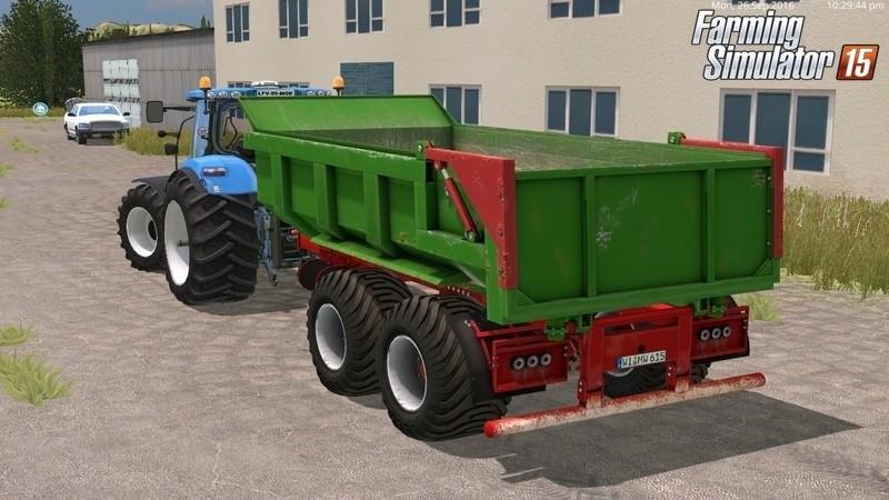 Прицепы для Мод-пак прицепов «Hilken HI2250SMK» для Farming Simulator 2015