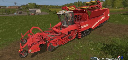 Комбайны для игры мод Мод комбайн «Grimme Tectron 415 v1.0» для Farming Simulator 2017