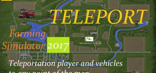 Другие моды для игры мод Мод «Телепорт» v1.1 для Farming Simulator 2017