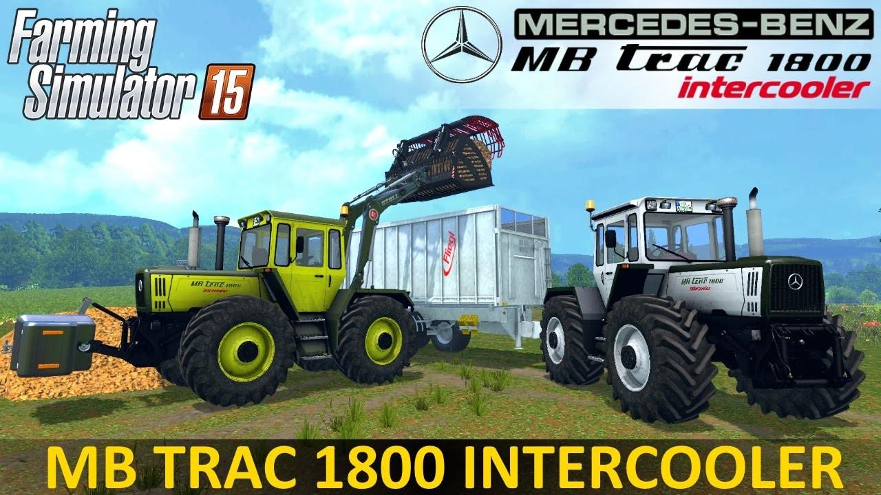 Тракторы для Мод-пак тракторов «Mercedes-Benz» для Farming Simulator 2015