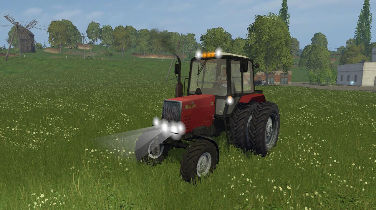 Русская техника для Мод трактор «Беларус 920» v2.0 для Farming Simulator 2015